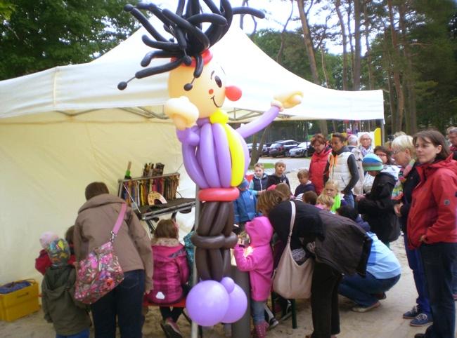 Willkommen beim Luftballonkünstler »Wim Wolke« hier in Nordhorn